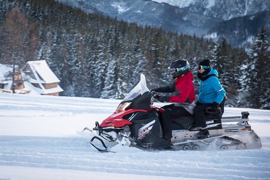 Zakopane Skutery Sniezne Snowmobile Wycieczki Atrakcje Imprezy