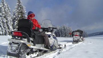 FILM - integracja na skuterach śnieżnych