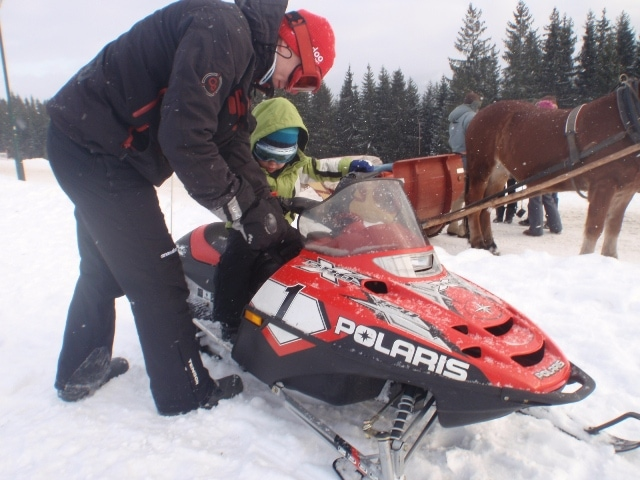 Snow Kids - mini snowmobiles Zakopane - Snowdoo
