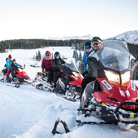 Snowmobiles TRIP – 1 hour guided Tour